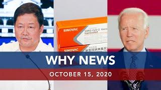 UNTV: Why News | October 15, 2020