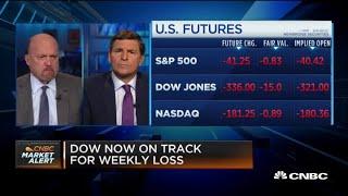 Cramer: Investors will regret selling U.S. stocks on Europe Covid-19 spikes