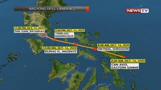 BT: Weather update as of 11:35 AM | October 15, 2020