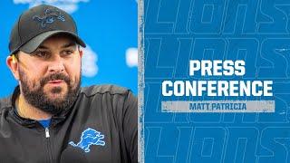 Detroit Lions Media Availability: Oct. 15, 2020 | Matt Patricia