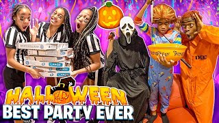 WE HAD THE BEST HALLOWEEN COSTUME PARTY EVER!
