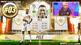 OMG I PACKED 95 PELE!!! BEST FIFA 21 PACK EVER..