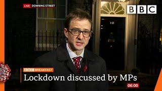 Covid: Boris Johnson warns of virus deaths 'twice as bad' as spring 🔴 @BBC News live - BBC