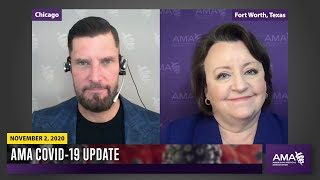 AMA in conversation with CDC | COVID-19 Update for November 2, 2020