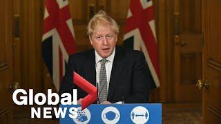 Coronavirus: UK PM Boris Johnson details new England lockdown measures