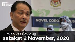 Kes Covid-19 2 November, 2020 | 834 kes baharu, 2 kematian