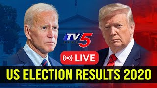 US Election Results 2020 LIVE | Trump Vs Biden Tracker | TV5 News