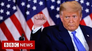 US Election: Result goes to wire as Trump alleges fraud without offering any evidence   - BBC News