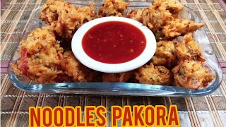 Noodle pakora recipe||pakora recipe||cooking with ashi