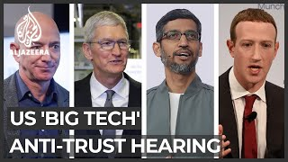 Four US 'big tech' CEOs to face anti-trust congressional hearing