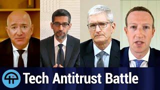 Big Tech Antitrust Regulation Battle