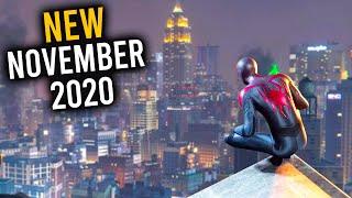 Top 10 NEW Games of November 2020