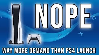 If you haven't pre-ordered A PS5, You're Not Getting One
