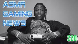 ASMR Gaming News (220) Travis Scott PS5, Call of Duty Zombies, Xbox, Nintendo, Fortnite, Avengers +