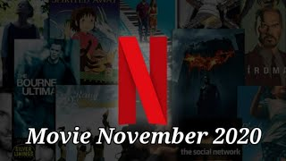 Movies Netflix in November 2020