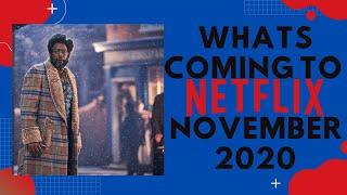 What's New To Netflix - November 2020