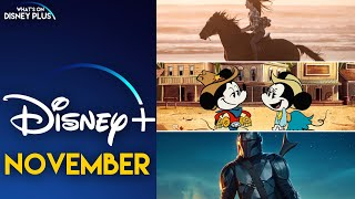 What's Coming To Disney+ In November