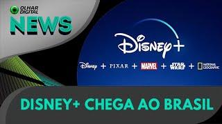 Ao Vivo | Disney+ chega ao Brasil | 03/11/2020 | #OlharDigital