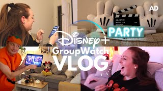 Hosting A Disney+ GroupWatch Party! 🎉 Decorating For Halloween & How To Have A Virtual Party 🎃 AD