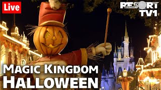 🔴Live: Our Last Magic Kingdom Halloween Live Stream of 2020 - Walt Disney World - 10-30-20