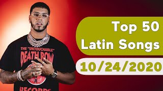 US Top 50 Latin Songs (October 24, 2020)