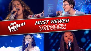 The Voice Kids: TRENDING IN OCTOBER 2020! ✌️❤️ | Top 10