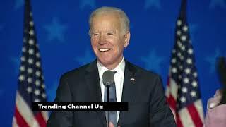 Joe Biden speaks to supporters in Wilmington, Delaware - US ELECTION 2020