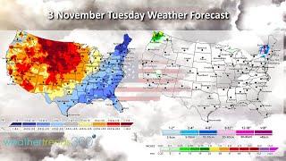 Captain's Log 2 Nov 2020 Another Flip Flop in Pattern - Hurricane Threat!