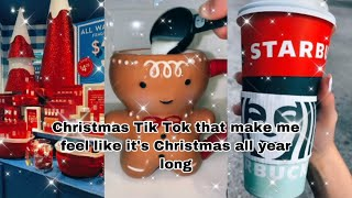 Christmas Tik tok's that make me think it's Christmas all year long