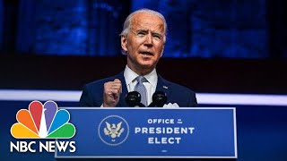 Biden Introduces Nominees For His Health Care Team | NBC News