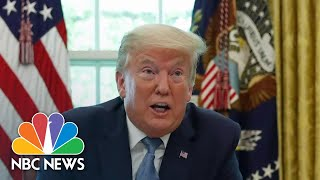 Israel's Former Space Security Chief Claims Aliens Exist, And Trump Knows | NBC News NOW