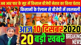 Nonstop News|10 December 2020| Aaj ka taja khabar|10 December ka taja Samachar|10 December 2020 News