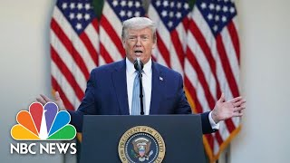 Trump Delivers Remarks At An Operation Warp Speed Vaccine Summit | NBC News