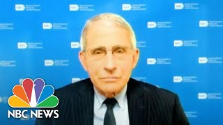 Dr. Fauci Warns Those With Underlying Allergic Tendencies Prone To Covid Vaccine Reactions