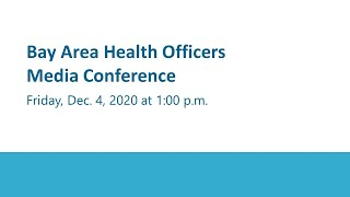 December 4, 2020 Health Services Press Conference on COVID-19