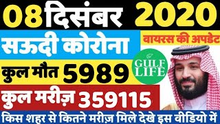 Ministry Of Health | 08 December 2020 | Saudi Arabia | Today Health Report | Gulf Life Hindi