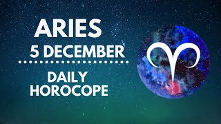 Aries Horoscope 🔥 5 December 2020 (Love, Health, Finance, Career)