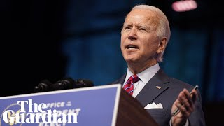 Joe Biden announces key health team nominees – watch live