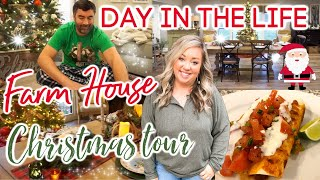 DAY IN THE LIFE | FARMHOUSE CHRISTMAS TOUR | COOKING AT THE FARM | JESSICA O'DONOHUE