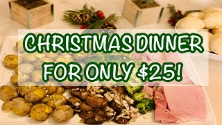 2020 CHRISTMAS ON A BUDGET | QUARANTINE FAMILY CHRISTMAS DINNER | CHRISTMAS MEAL FOR 2020