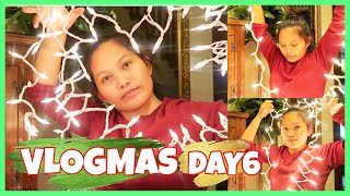 VLOGMAS DAY6:ADDED CHRISTMAS LIGHT + BARBECUE CHICKEN IN COLD OUTSIDE!| QUARANTINE CHRISTMAS 2020