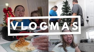 VLOGMAS 10 : Cooking Dinner & Putting Up my Christmas Tree | 2020