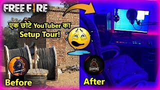 My Free Fire Setup Tour Like Ajjubhai | A Small Youtuber Gaming Setup Tour 2020 | SK Gaming Zone