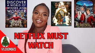 WHAT TO WATCH ON NETFLIX || MY TOP NETFLIX CHRISTMAS MOVIES 2020