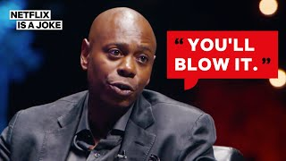 Dave Chappelle Reveals His Comedy Wisdom To David Letterman