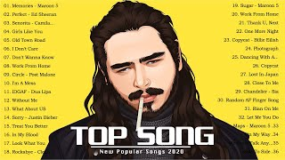 Top Hits 2020 - Best English Music Collection 2020 - Top 40 Popular Songs Playlist 2020