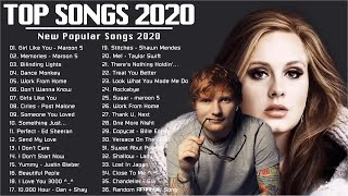 Top Trending Music 2020 1️⃣ Top 40 Popular Songs Playlist 2020 2️ Best English Music Collection 2020