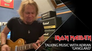 Talking Music with Adrian Smith - 'Gangland'