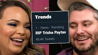 Trisha's Death Was Trending On Twitter RIP LOL EPIC