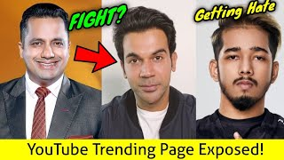YouTube Trending Page Exposed, Dr. Vivek Bindra Fight with Rajkumar Rao?, Scout Gets Hate...
